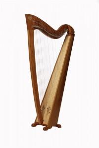 Keltische Harp - Azurit
