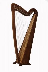 Keltische Harp - Saphir